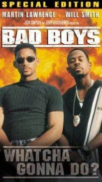 Bad Boys - VHS cover