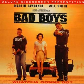 Bad Boys - Laser Disc cover