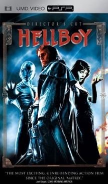 Hellboy - UMD cover