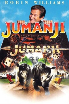 Jumanji - Laser Disc cover
