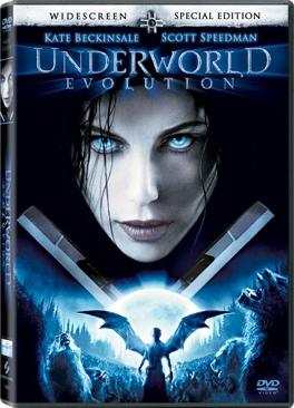 Underworld 2: Evolution - DVD cover