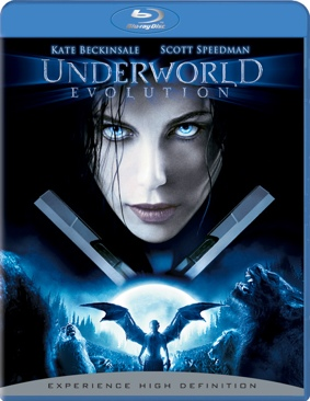 Underworld 2: Evolution - Blu-ray cover