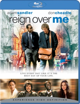 Reign Over Me - Blu-ray cover