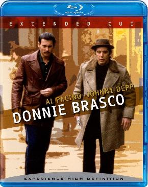 Donnie Brasco - Blu-ray cover