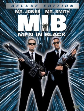 Men in Black - DVD cover