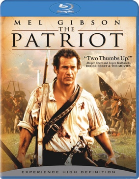 The Patriot - Blu-ray cover