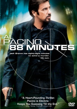 88 Minutes - DVD cover