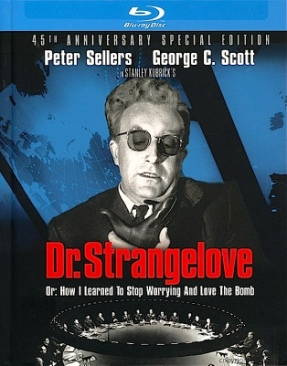 Dr. Strangelove: Or How I Learned To Stop Worrying and Love the Bomb - Blu-ray cover