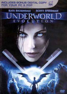 Underworld - Evolution - Blu-ray cover