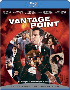 Vantage Point - Blu-ray cover