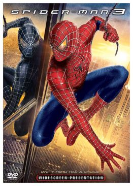 Spider-Man 3 - DVD cover