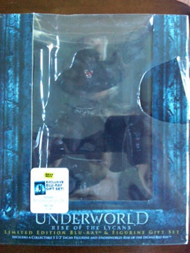 Underworld: Rise of the Lycans - Blu-ray cover
