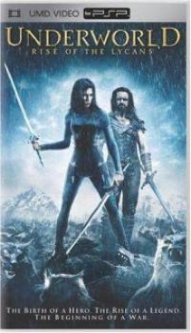 Underworld: Rise of the Lycans - UMD cover