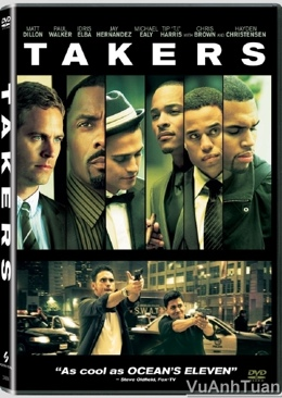 Takers - DVD cover