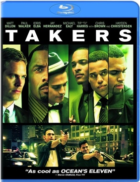 Takers , - Blu-ray cover