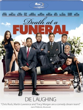 Death at a Funeral - Blu-ray cover