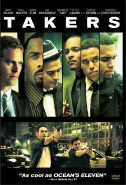 Takers.     1.25 - DVD cover