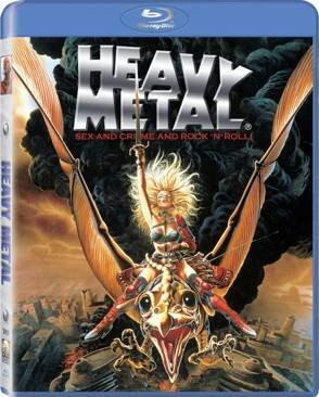 Heavy Metal - Blu-ray cover