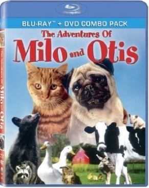 Adventures of Milo and Otis - Blu-ray cover