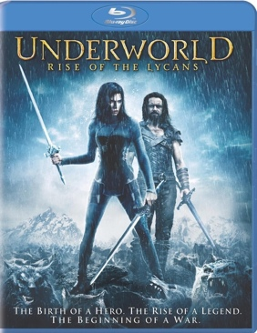 Underworld 3: Rise of the Lycans - Blu-ray cover
