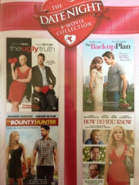 4 Movie Date Night Collection -  cover