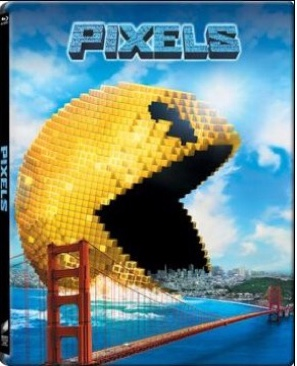 Pixels - Blu-ray cover