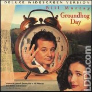 Groundhog Day - Laser Disc cover