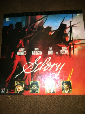 Glory - Laser Disc cover
