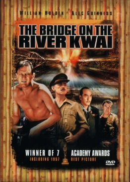 The Bridge on the River Kwai - VHS cover