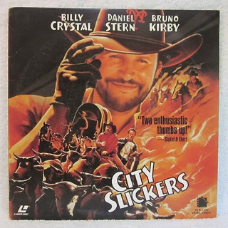 City Slickers - Laser Disc cover