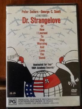 Dr. Strangelove - VHS cover