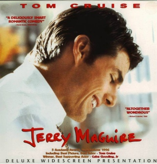 Jerry Maguire - Laser Disc cover