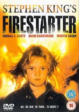 Firestarter - DVD cover
