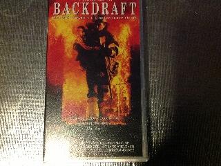 Backdraft - VHS cover