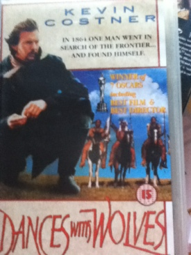 Dances with Wolves - VHS cover