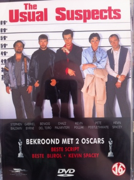 The Usual Suspects - DVD cover