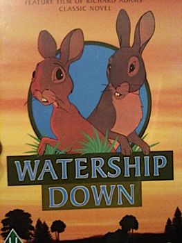 Watership Down - CED cover