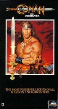 Conan The Destroyer - VHS cover