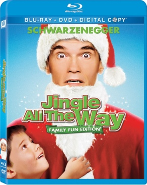 Jingle All the Way - Blu-ray cover