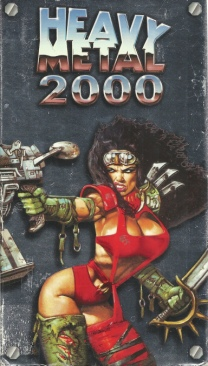 Heavy Metal 2000 - VHS cover