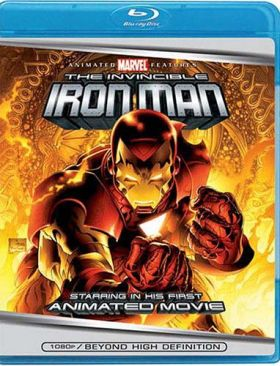 The Invincible Iron Man - Blu-ray cover