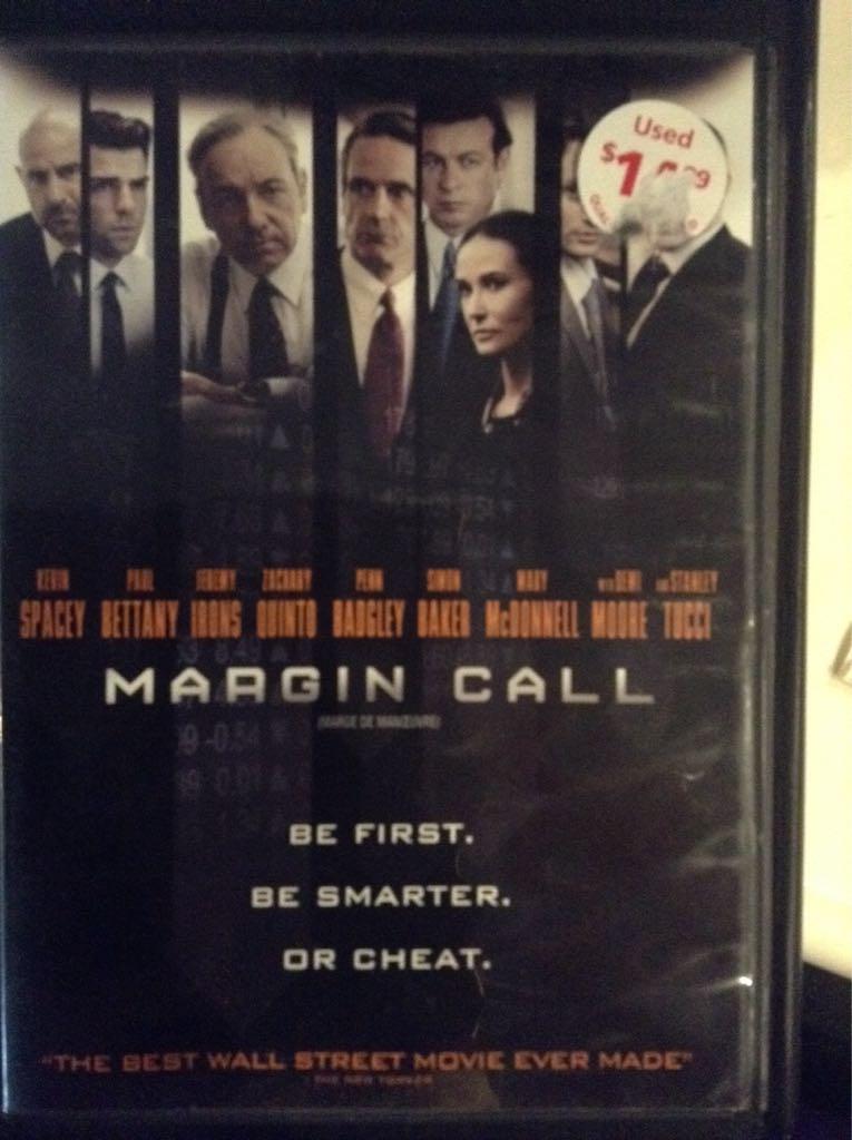 Margin Call -  cover