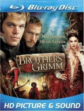 The Brothers Grimm - Blu-ray cover