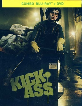 Kick-Ass (NOVA) - Blu-ray cover
