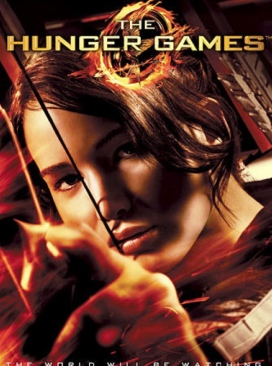 The Hunger Games 1 ( Tim ) - DVD cover