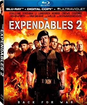 The Expendables 2 - Blu-ray cover