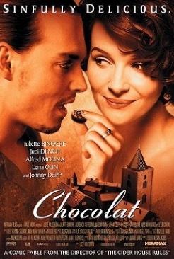 Chocolat - Blu-ray cover