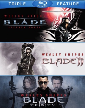 Blade Trilogy - Blu-ray cover