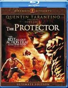 The Protector - Blu-ray cover