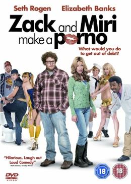 Zack and Miri Make a Porno - DVD cover